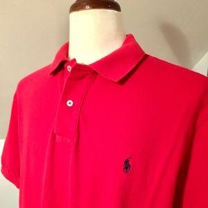 Men's Ralph Lauren Polo Short Sleeved Shirt EUC